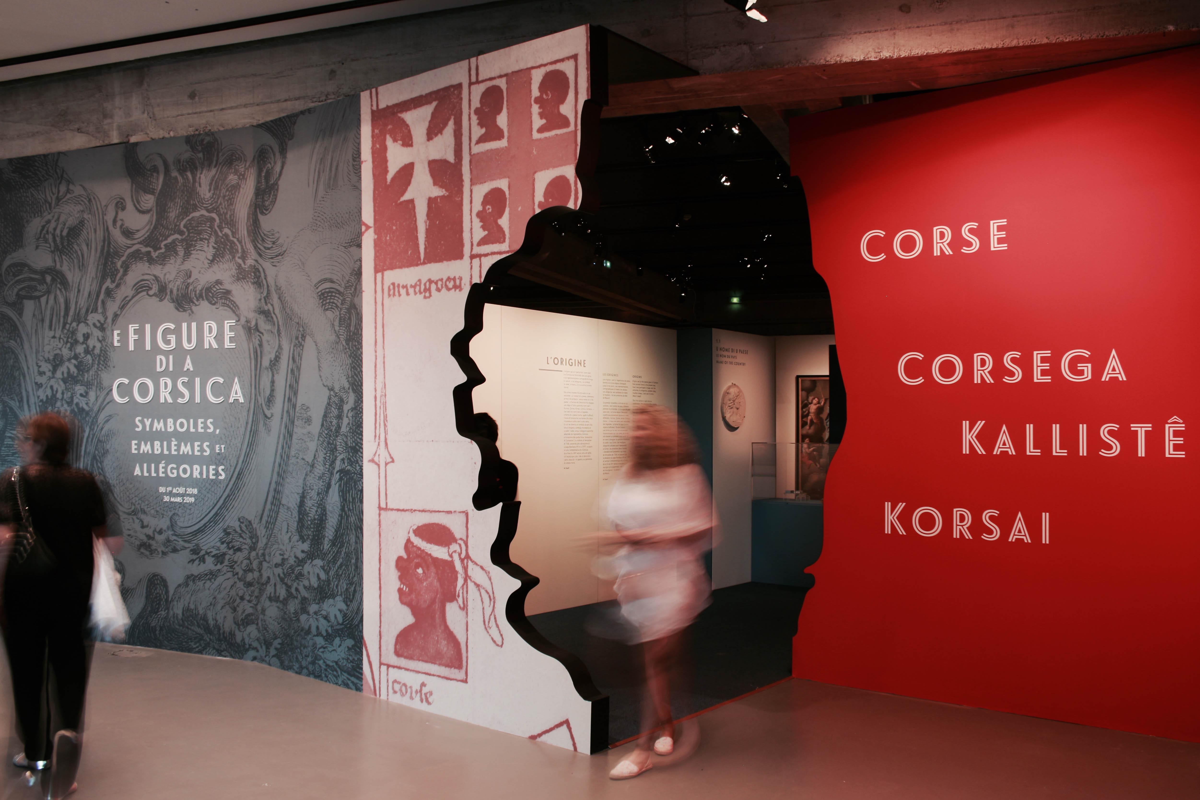 Scénographie - E Figure di a Corsica
