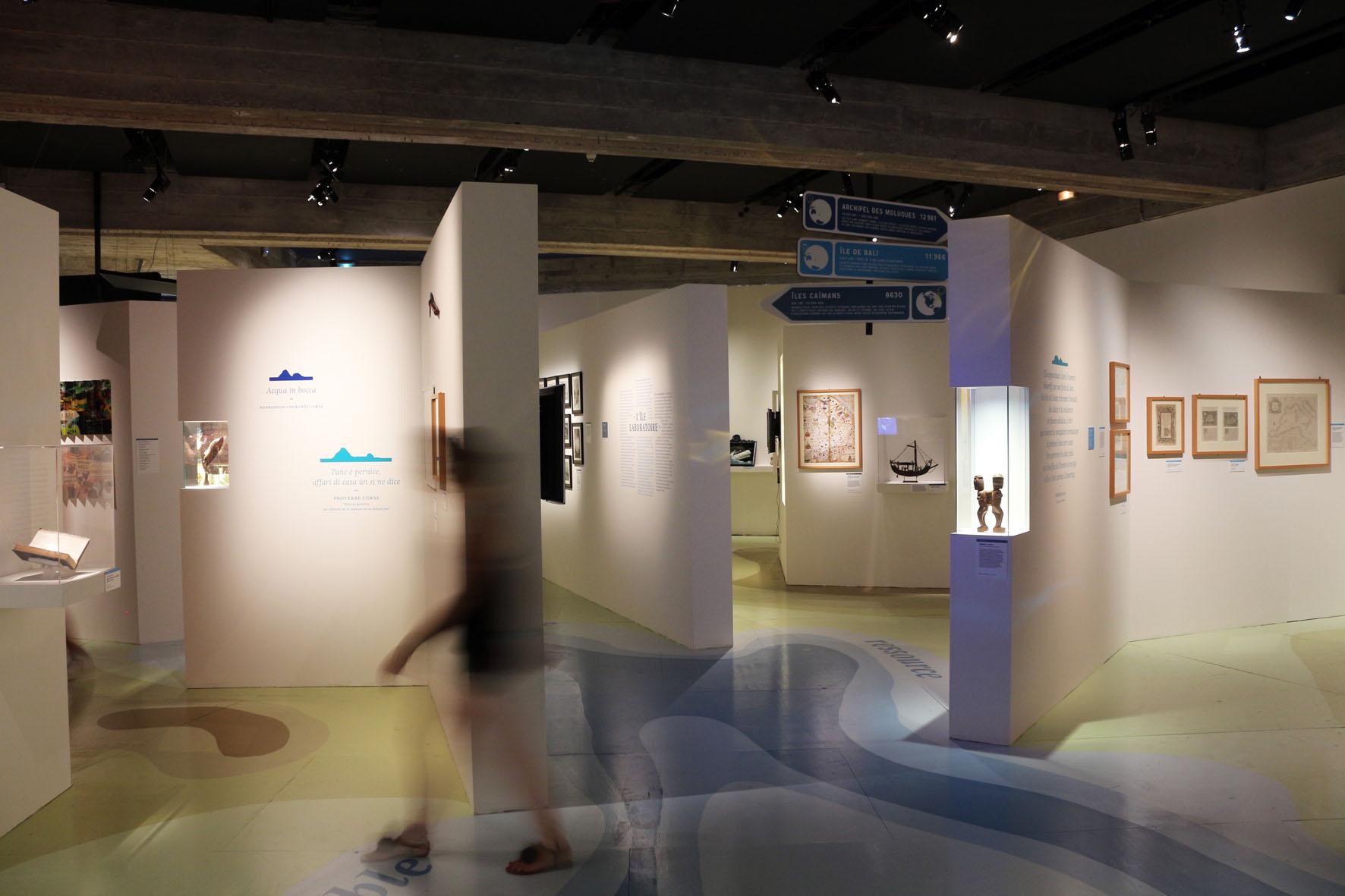 Scénographie - ÎLEs Musée de Corse