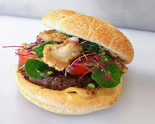 burger aux insects