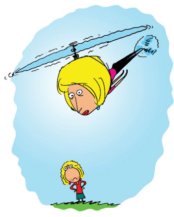 Is helicopter parenting a real thing?: Pop psych vs. Research
