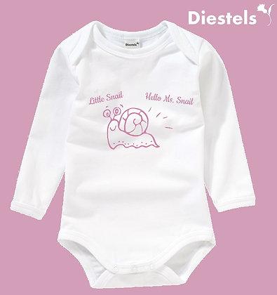 Baby Body mit süßen Schnecken Druck