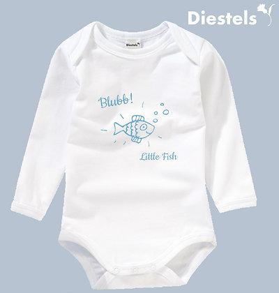Baby Body mit süßen Fisch Druck