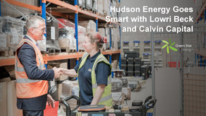 Hudson Energy Goes Smart with Lowri Beck and Calvin Capital