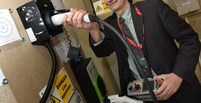 Wigan business aims to become the country's biggest installer of electric vehicle charging units