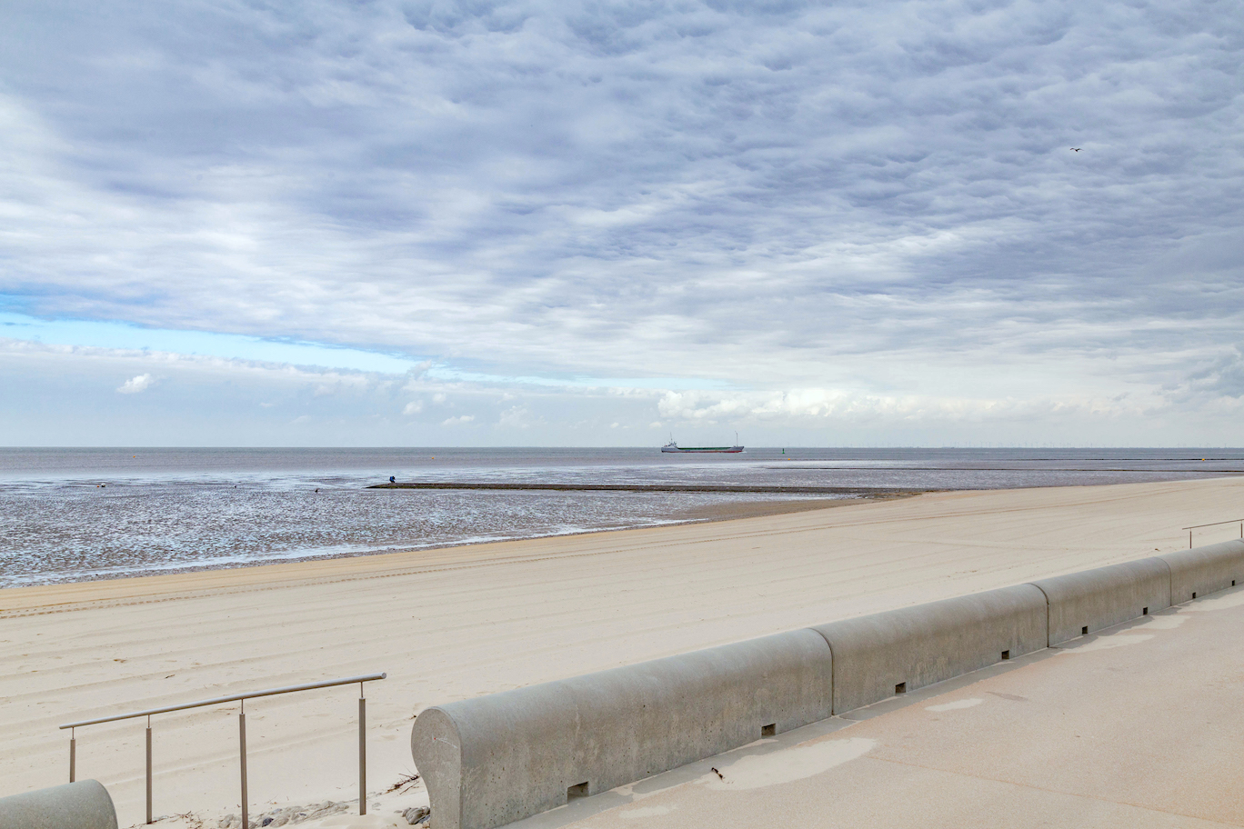 Beach of Cuxhaven