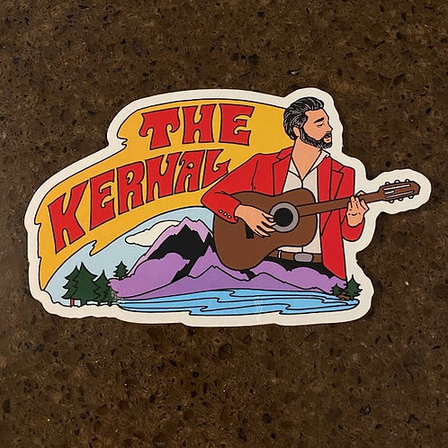 Kern Dawn Stickers