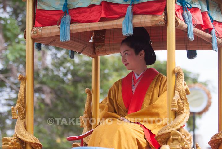 琉球王国 王妃・「琉球王朝祭り首里『古式行列』」