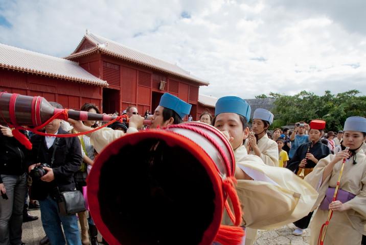 「琉球王朝祭り首里『古式行列』」
