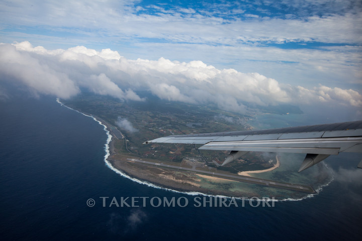 眼下の久米島