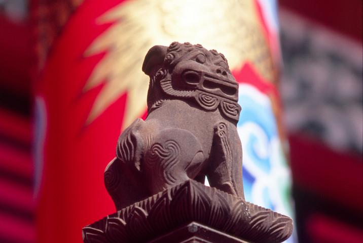 首里城・正殿の狛犬