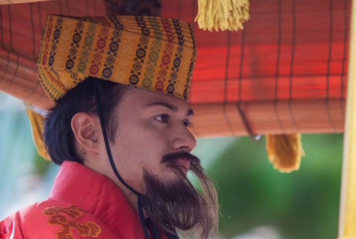 琉球王国 国王・「琉球王朝祭り首里『古式行列』」