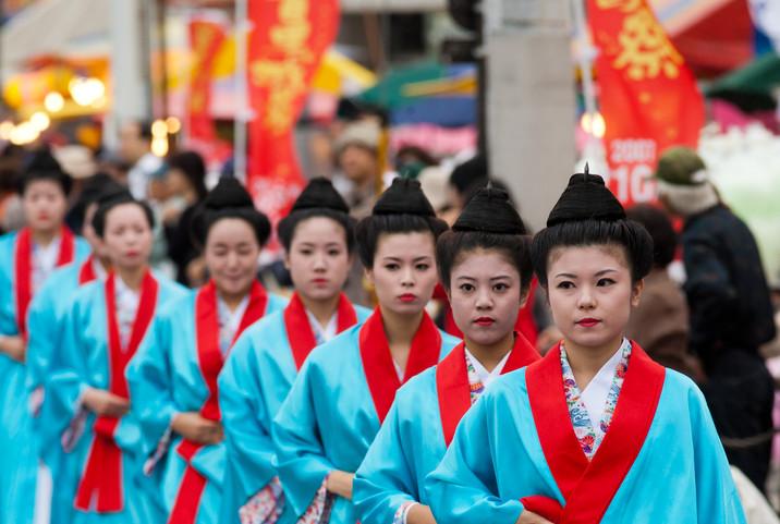 女官・「琉球王朝祭り首里『古式行列』」