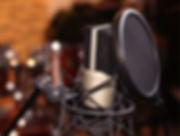 histoire de voix : Micro studio enregistrement