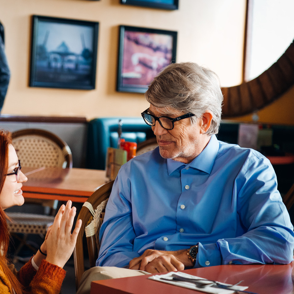 BTS with Eric Roberts