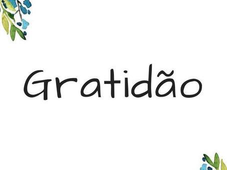 Gratidão - Dia Internacional do OBRIGADO