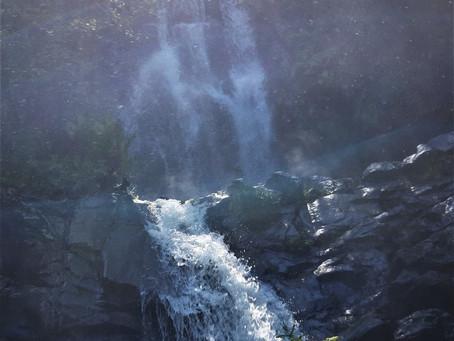 Pedra da Ferida - A Cascata e o Trilho