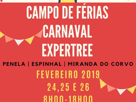 Carnaval - Campos de Férias 2020
