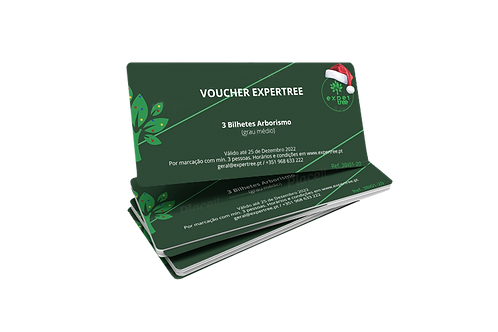 Vouchers EXPERTREE - personalizados
