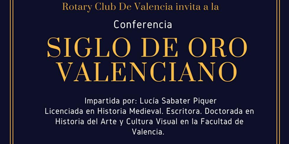 Conferencia SIGLO DE ORO VALENCIANO