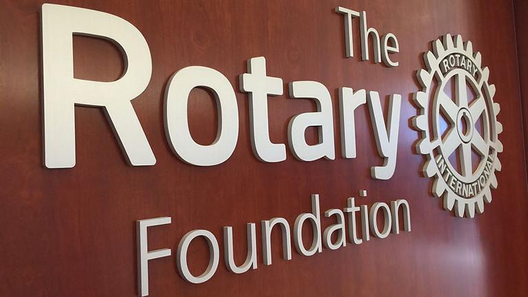Seminario de membresía cuadro social y Fundación Rotaria