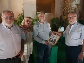 Visita  al Club  de nuestro compañero Rotario TOM  BERGMANN-HARRIS. Presidente     2015 /2016 del ROTARY CLUB CLAREMONT CAPE TOWN  7740
