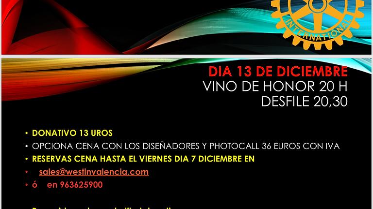 DESFILE ROTARY EN EL WESTIN DIA 13 DICIEMBRE