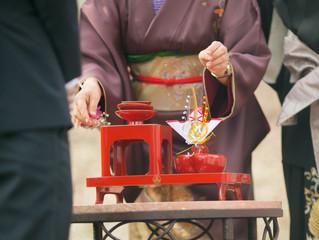 Wedding Traditions Explained: Japanese San San Kudo