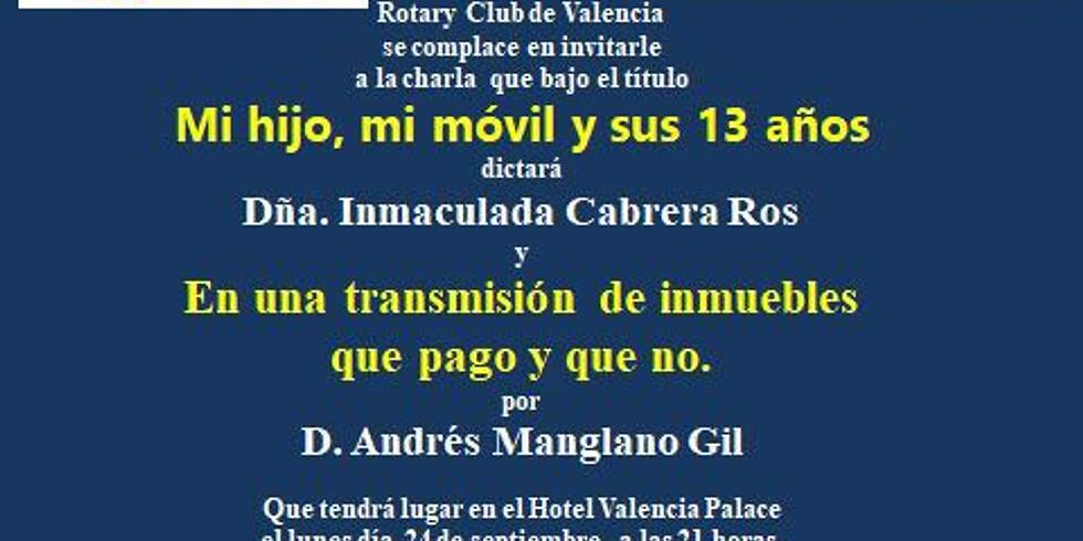 Nuevo ciclo académico 2018- 2019 en el Club Rotary Valencia