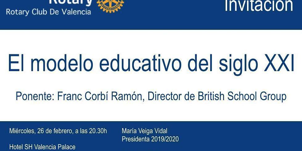 El modelo educativo del siglo XXI