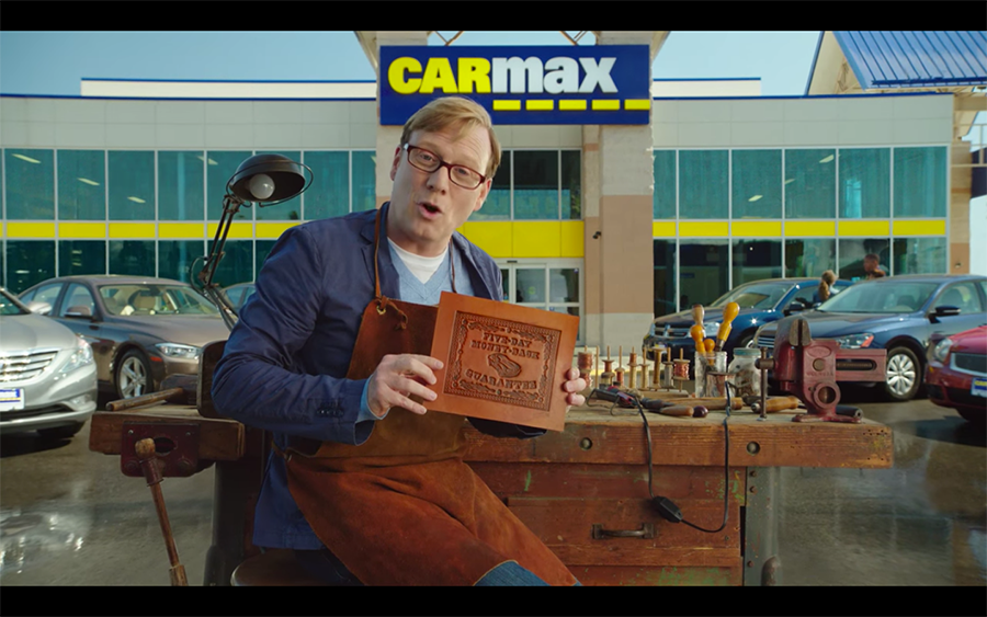Carmax Spot Andy Daly