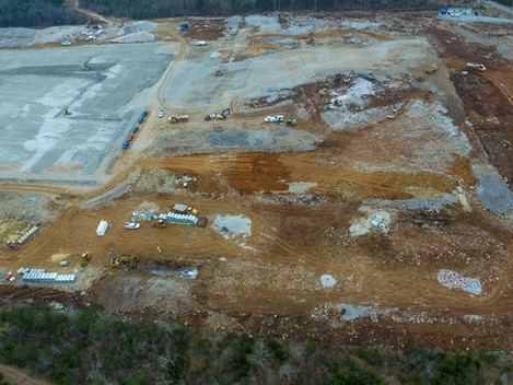In Wilson County, TN, DCI is the Construction Manager on a 670k sf industrial building.
