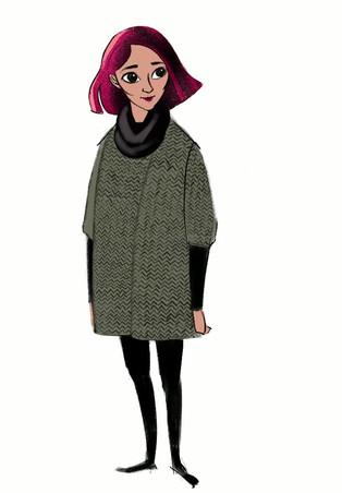 Becca Stevens character design