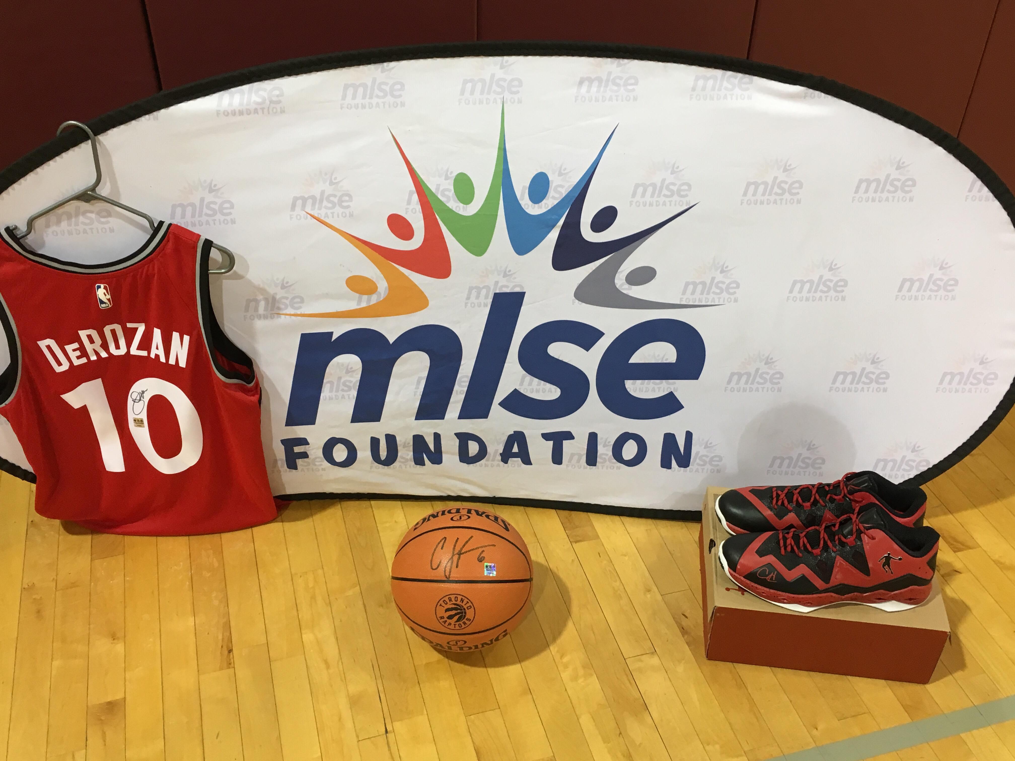 MLSE Foundation Raffle items