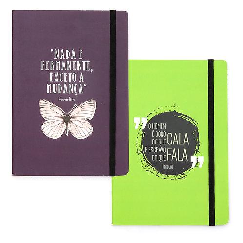 Duo - Kit 2 cadernos - Freud & Heráclito