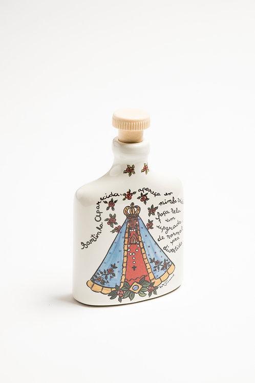 Garrafa de Água Benta Nossa Senhora Aparecida | Santeiro - Atelier Patricia Virm