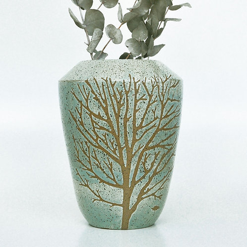 Vaso Árvore da Vida Somassae Pottery