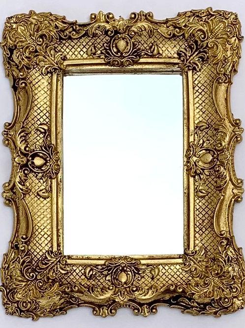 559 - moldura em resina espelhada