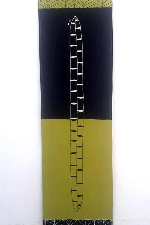 Painel de parede Serigueira oliva - Ivone Rigobello