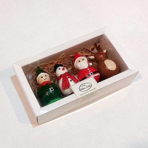 Decoração de Natal - Caixa com 4 unidades