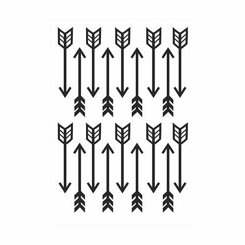 Adesivos de parede Flechas