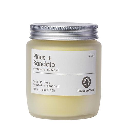 Vela Perfumada Pinus+Sandalo No.305 - 190g