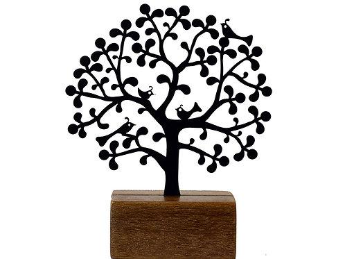 mini árvore renda