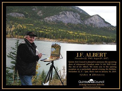 JFAlbert  Quinte Arts Council invite.jpg