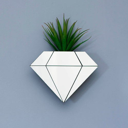 Vaso de Parede Diamante - Wall Done