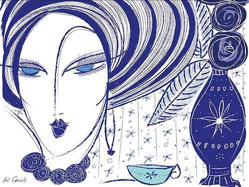 Azul e Branco - Cris Conde