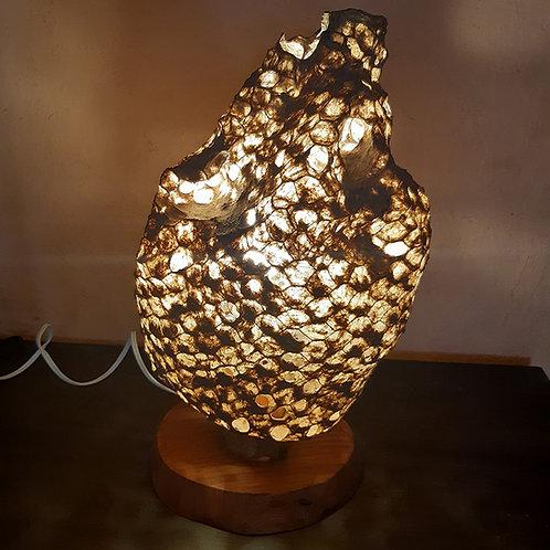 Luminária de mesa Casulo