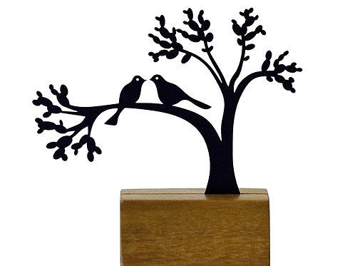 mini árvore namorados