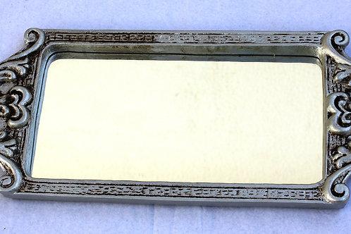 526 - Bandeja em resina espelhada