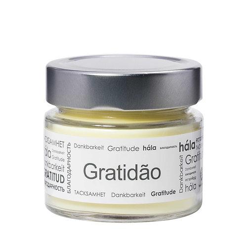 Vela Perfumada Pavio de Vela: GRATIDÃO - 145g