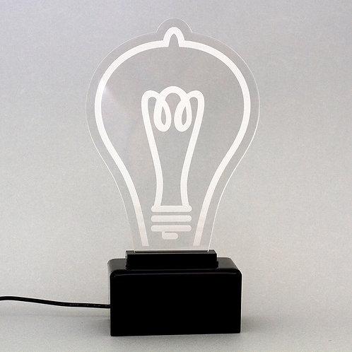 Luminária de Mesa Lâmpada - LED Amarelo